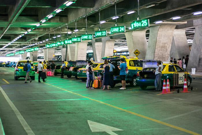 Taxi Suvarnabhumi to Pattaya