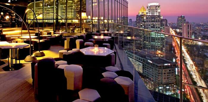 Park Society sky bar Bangkok