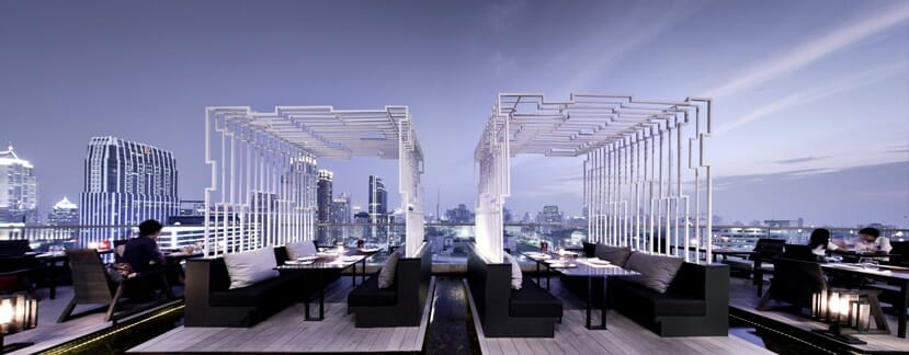 Zense Sky Bar Bangkok