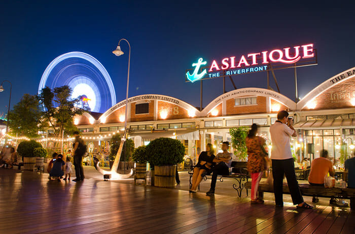 Asiatique the Riverfront in Bangkok
