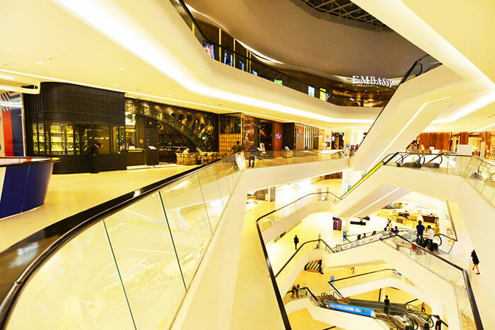 Central Embassy Shopping Center in Bangkok