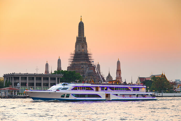 Dinner Cruise on Chao Phraya in Bangkok