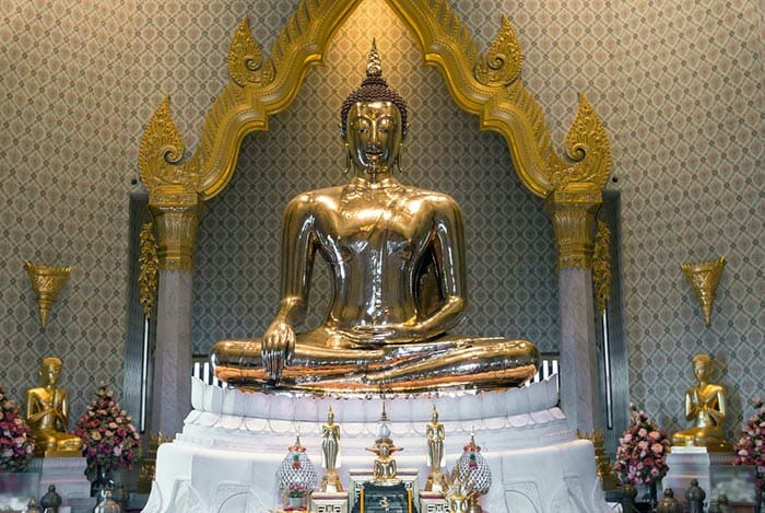 Golden Buddha Temple in Bangkok
