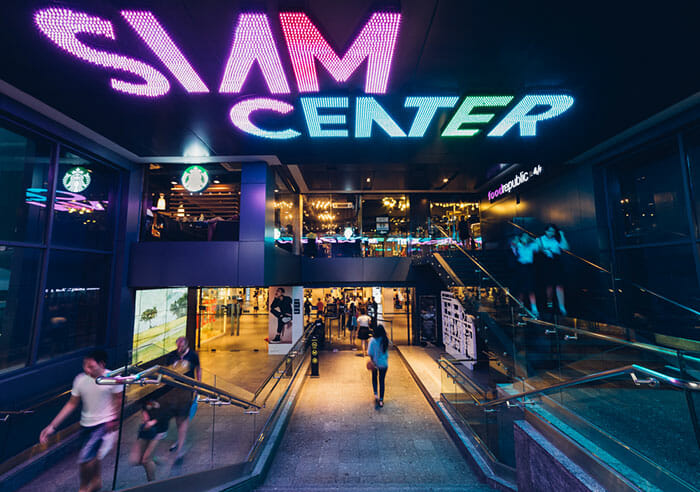 Siam Center Shopping Mall in Bangkok