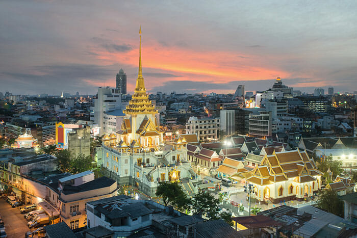 Wat Traimit in Chinatown, Bangkok