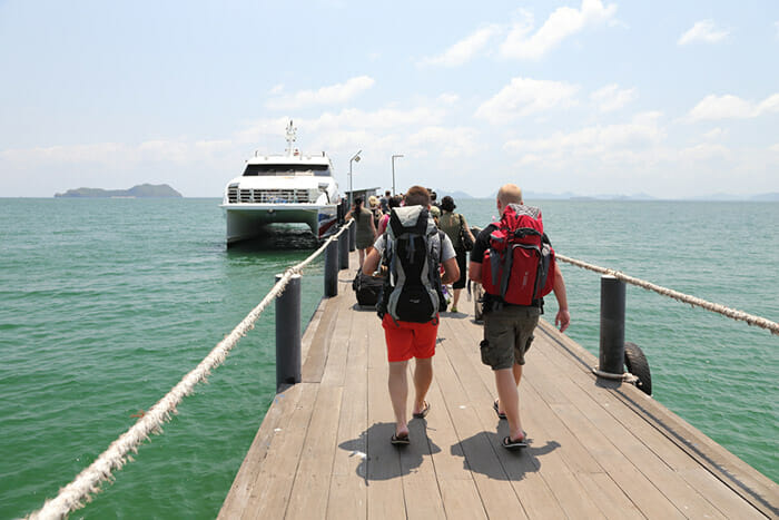 Ferry Chumphon to Koh Samui