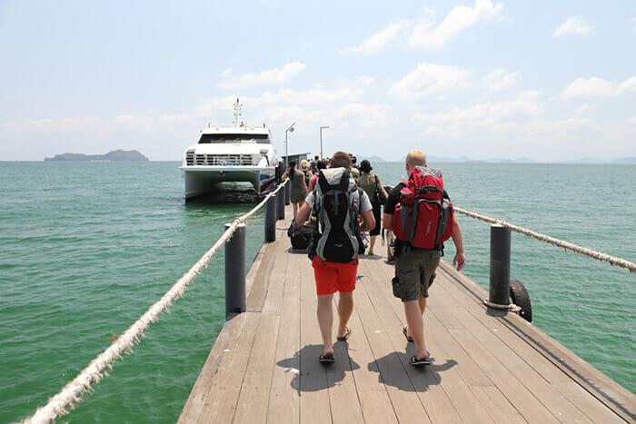 Ferry Chumphon to Koh Samui