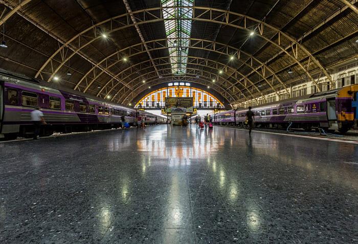 Train Bangkok to Samui