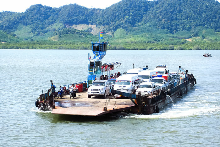 Car Ferry Krabi to Koh Lanta