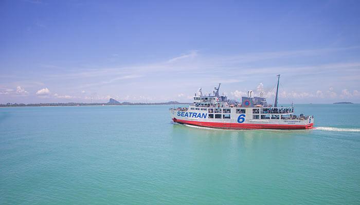 Ferry Koh Samui to Koh Tao