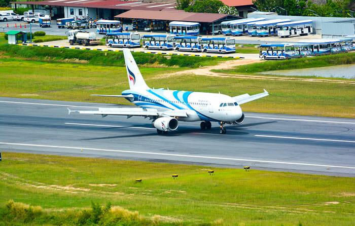 Flights Phuket to Koh Samui