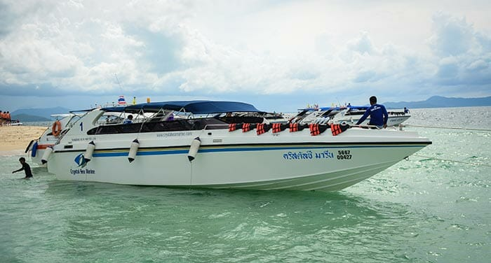 Speedboat Phuket to Krabi