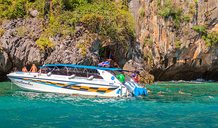 Speedboat Tour Phuket to Phi Phi
