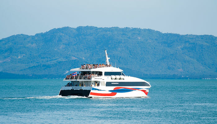Which Ferry Company Surat Thani to Koh Samui