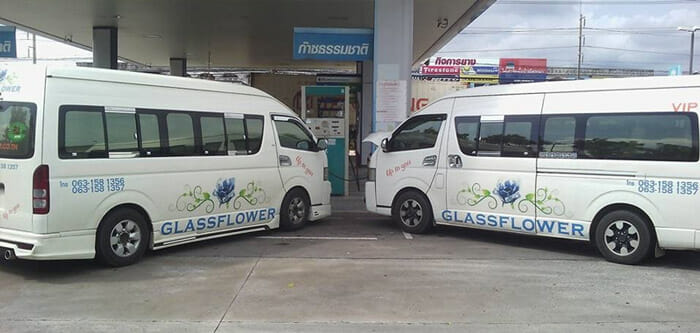 Glassflower Taxi from Bangkok to Trat