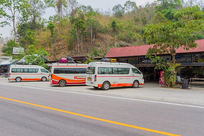 Minivan Chiang Mai to Pai