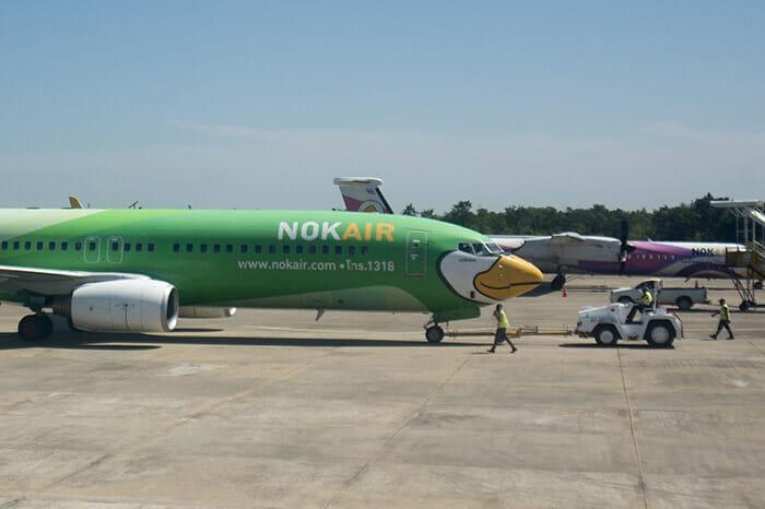 Flight Bangkok to Nong Khai