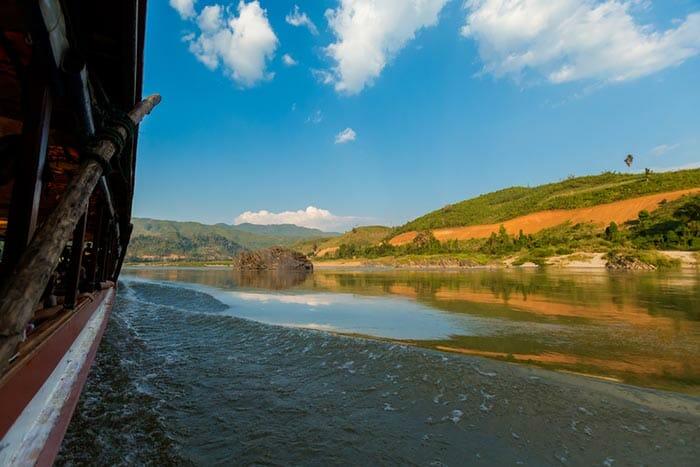 Boat Chiang Mai to Luang Prabang