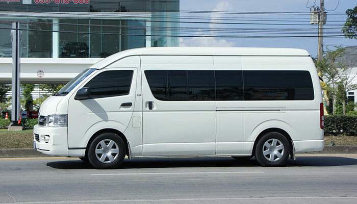 Getting from Bangkok to Hua Hin by Van