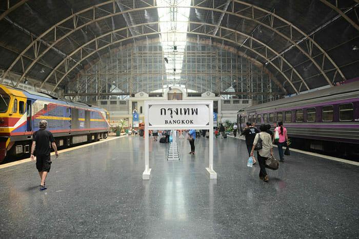 バンコクのフワランポーン駅