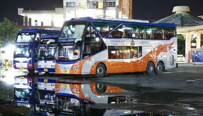 タイ政府バス会社バス