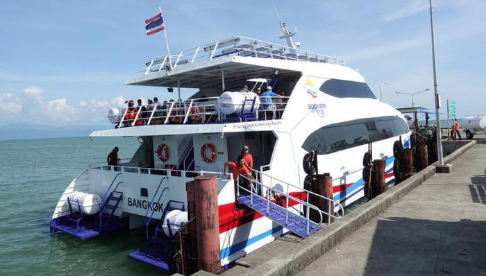 Bangkok to Koh Kood by Ferry