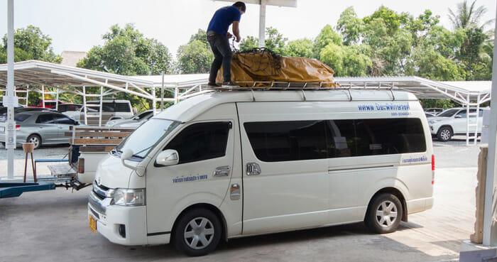 Bangkok to Koh Kood by Van