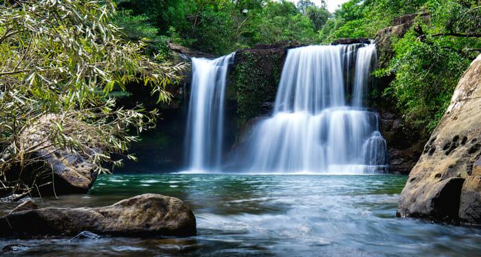 Bangkok to Koh Kood - Waterfall