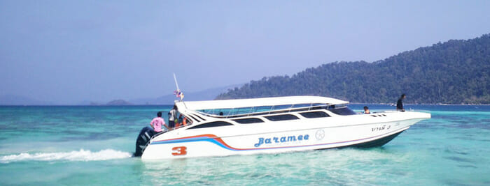 Krabi to Koh Lipe from Pakbara Pier with Jolly Travel Speedboat