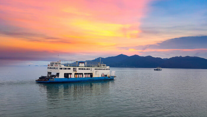 Pattaya to Koh Chang by Ferry