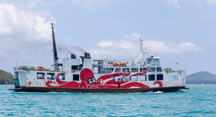 Raja Ferry from Surat Thani to Koh Phangan