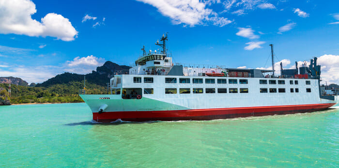 Seatran Discovery going to Koh Phangan from Surat Thani