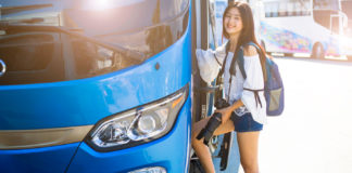 Travel by Bus in Thailand