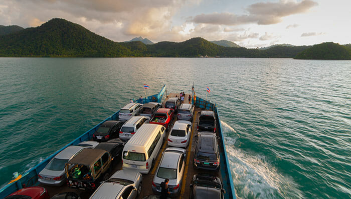 Ferries to Koh Chang, Koh Wai, Koh Mak, and Koh Kood