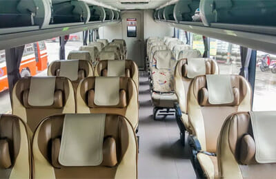 Green Bus VIP Seating