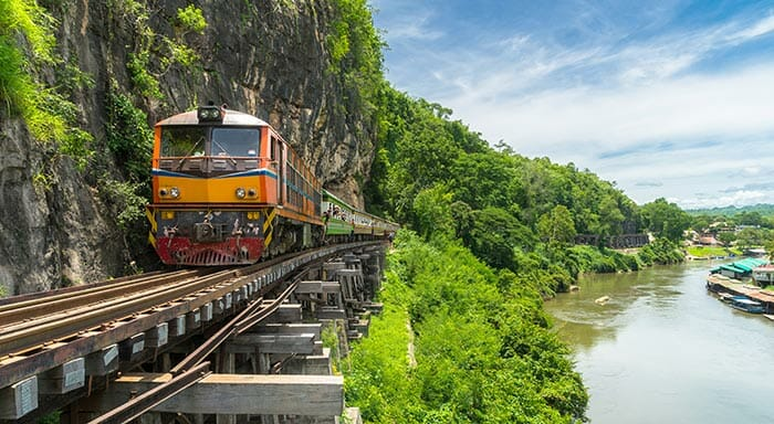 Is it Safe to Travel by Train in Thailand