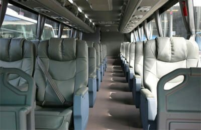 Bangkok to Chiang Rai VIP bus seating