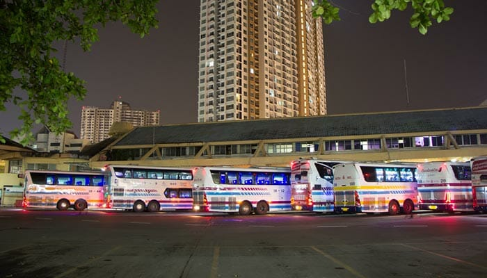 Chiang Mai to Bangkok by Bus
