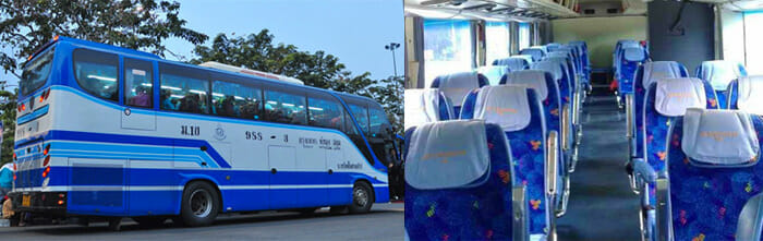 Phuket to Bangkok by Express Bus