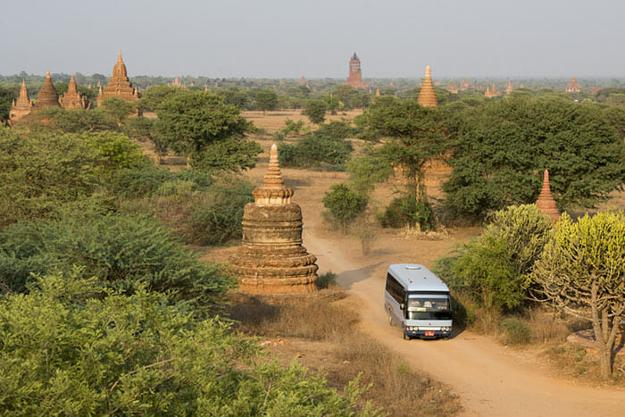 Transport Options from Yangon to Bagan