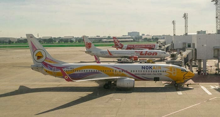 Flight from Bangkok to Koh Phi Phi
