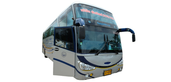 From Krabi to Phuket by Bus