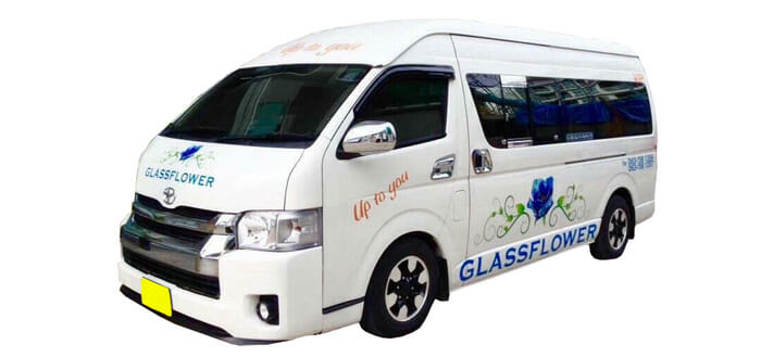 Krabi to Phuket with Glassflower Taxi