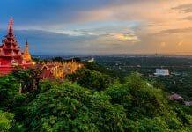 ヤンゴンからマンダレーへ