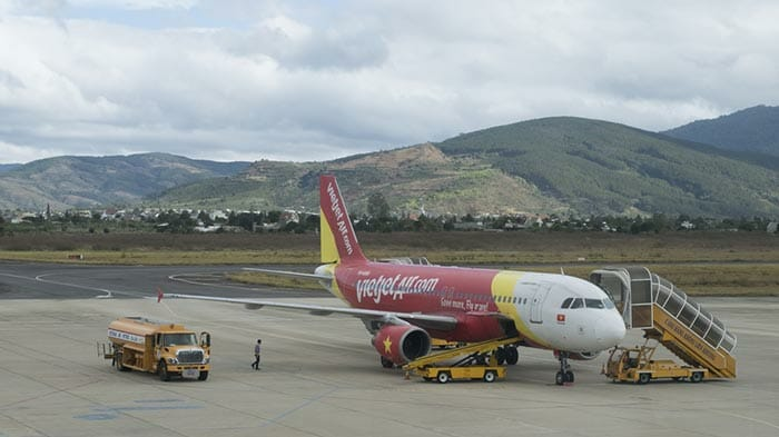 Flights from Ho Chi Minh to Dalat