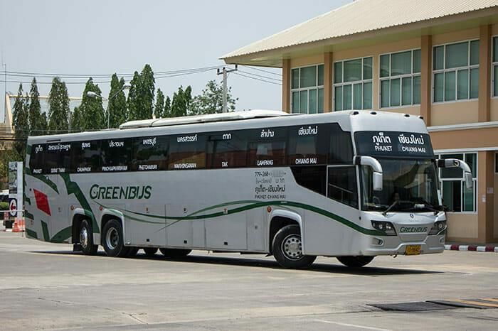 バスでチェンマイからプーケットへ