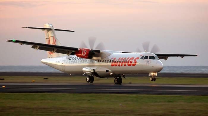 バリ島からロンボク島への飛行