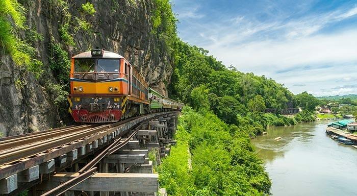 タイの列車で旅行するのは安全ですか?