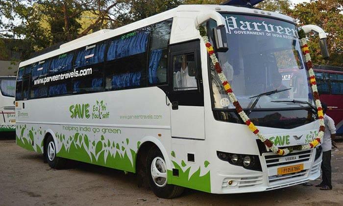 Chennai to Kodaikanal by Bus