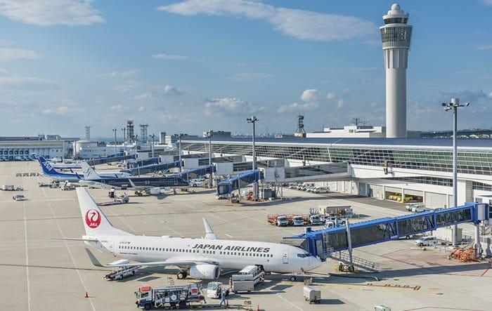 Flight from Nagoya to Tokyo